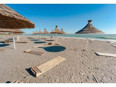 Пансионат Самшитовая роща Пицунда| Пляж