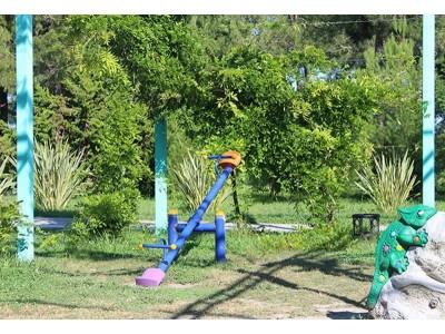 Пансионат Самшитовая роща Пицунда| Детская площадка