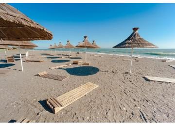 Бассейны и пляж | Пансионат Самшитовая роща Пицунда
